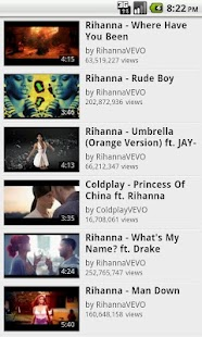 Rihanna Fan App - screenshot thumbnail