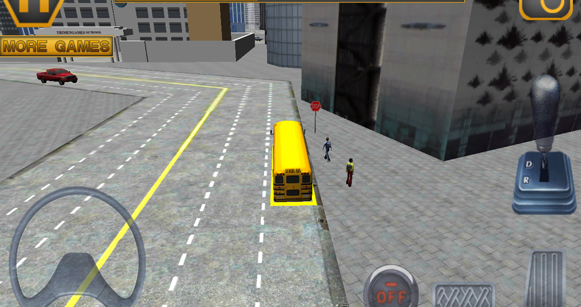 Schoolbus Driving 3D Simulator- screenshot