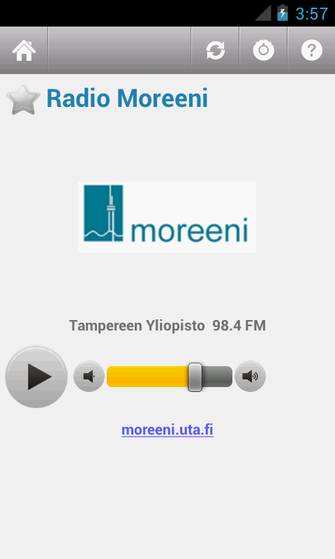 Suomen Radio (Finland)- screenshot