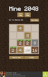 Minecraft 2048