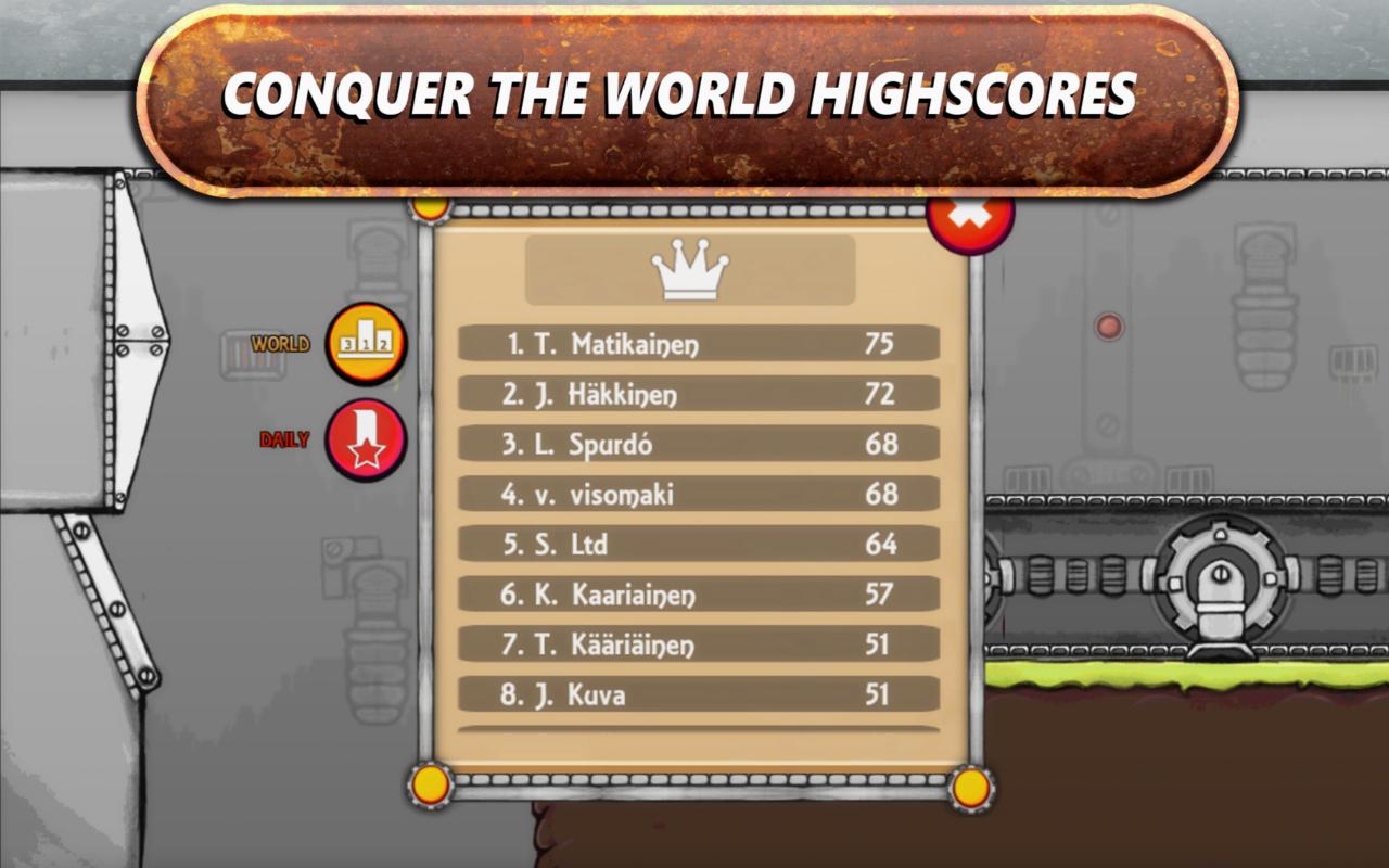 Roska - Arcade Platformer- screenshot