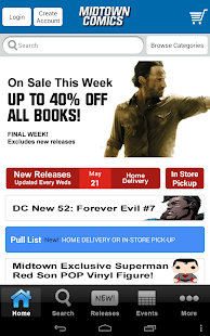 Midtown Comics- screenshot thumbnail