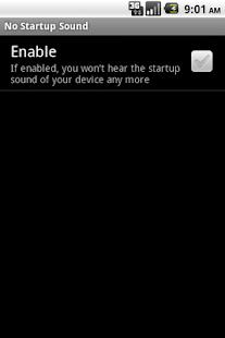 No Startup Sound- screenshot thumbnail