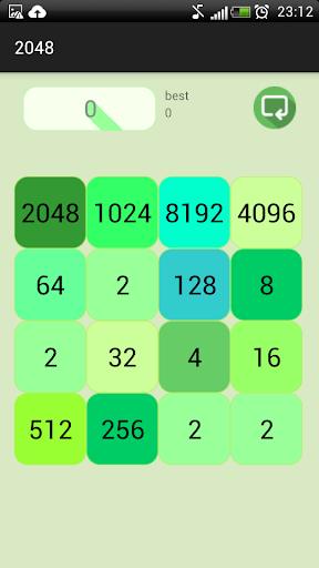 2048 Green Bang