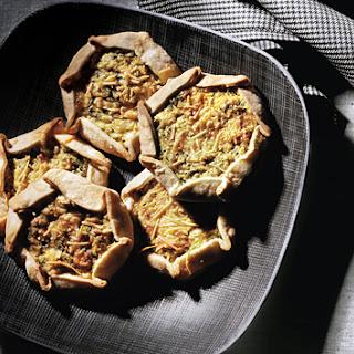 Individual Zucchini, Lemon, and Ricotta Galettes