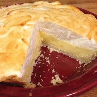 Sugar-Free Lemon Meringue Pie.