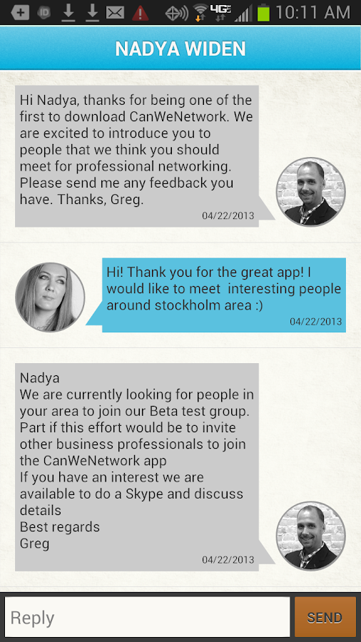 CanWeNetwork - screenshot