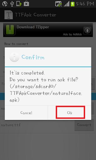【免費生產應用App】TTFApkConverter-APP點子