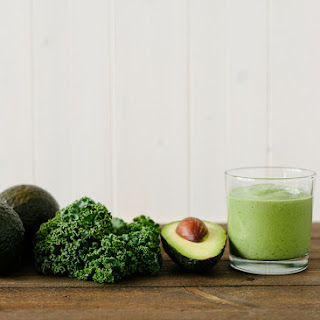Avocado Kale Superfood Smoothie Recipe