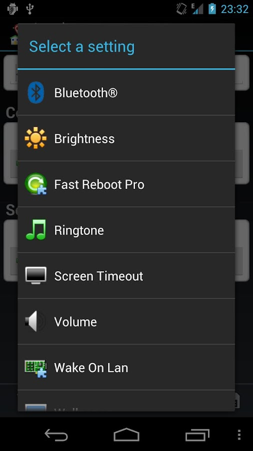 Fast Reboot Pro Locale Plug-in- screenshot