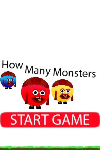 How Many Monsters