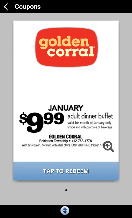 Golden corral printable coupons 2019