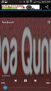 Doa Qunut MP3
