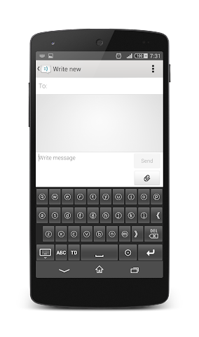android TypeDroid Pro with Keyboard Screenshot 17