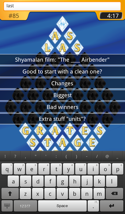 Brain Gems Free: Fun Word game- screenshot