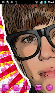 Justin Bieber Go Launcher Them - screenshot thumbnail