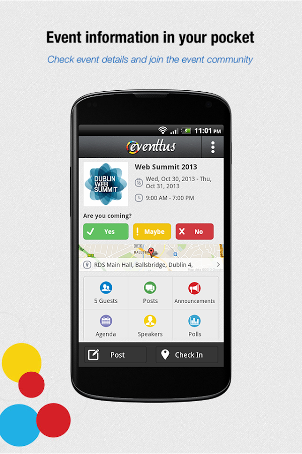 Eventtus - Events Social Guide - screenshot