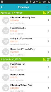 Expense Manager - Saving money- screenshot thumbnail