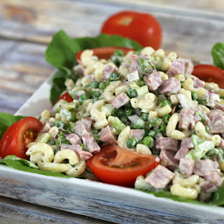 Macaroni and Ham Salad Recipe With Tomatoes