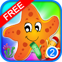Coloring Book Sealife for Kids icon