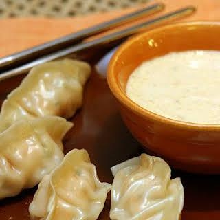 Chicken and Thai Basil Dumplings.