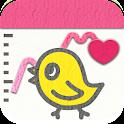 Japanese Kawaii Period Tracker icon