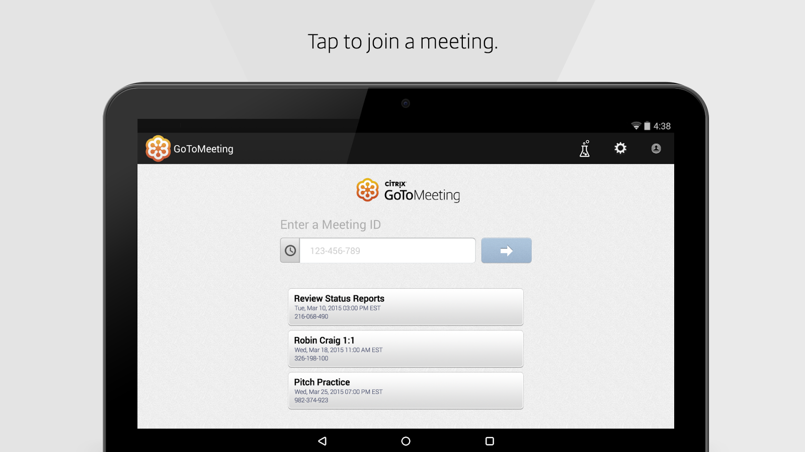 GoToMeeting- screenshot
