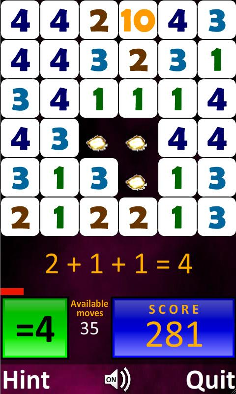 Arithmetics for Kids - screenshot