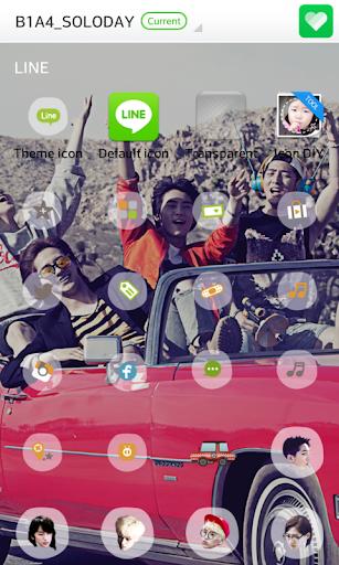 玩免費個人化APP 下載B1A4 SOLO DAYドドルランチャーテーマ app不用錢 硬是要APP