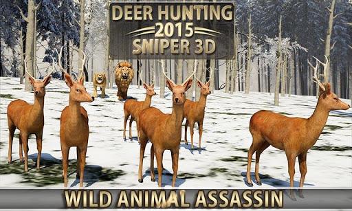 Deer Hunting u2013 2015 Sniper 3D  {cheat|hack|gameplay|apk mod|resources generator} 3