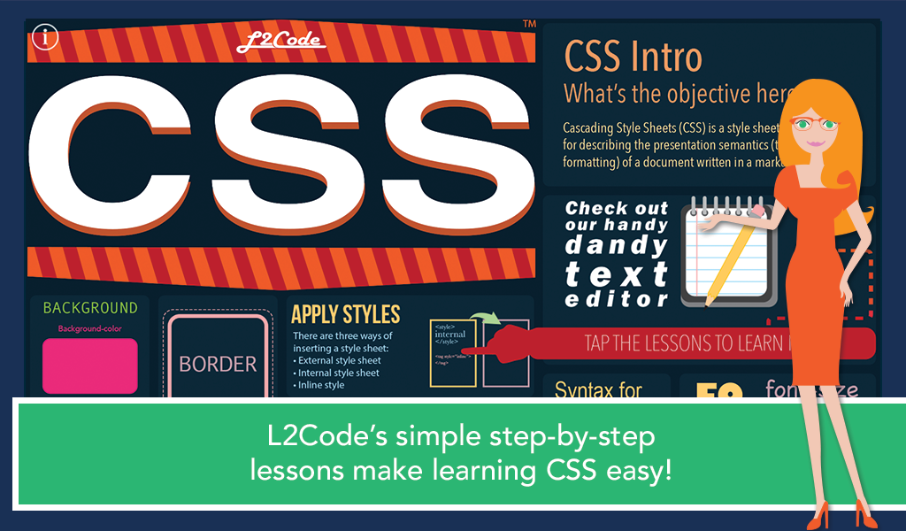 L2Code CSS – Learn to Code!- screenshot