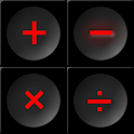 The Slick Black Calculator Fre icon