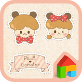 Paul & Dorothy(cutie sticker)