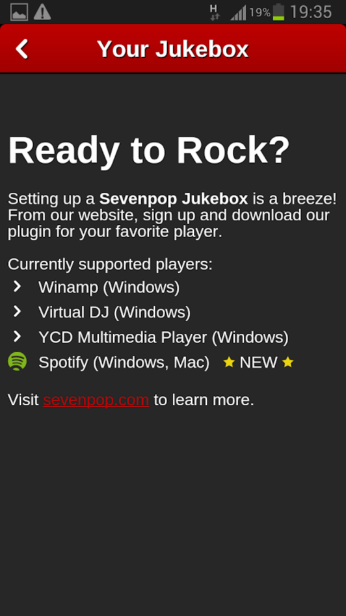 Sevenpop- screenshot
