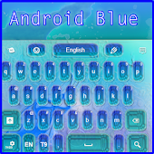 Android Blue Keyboard