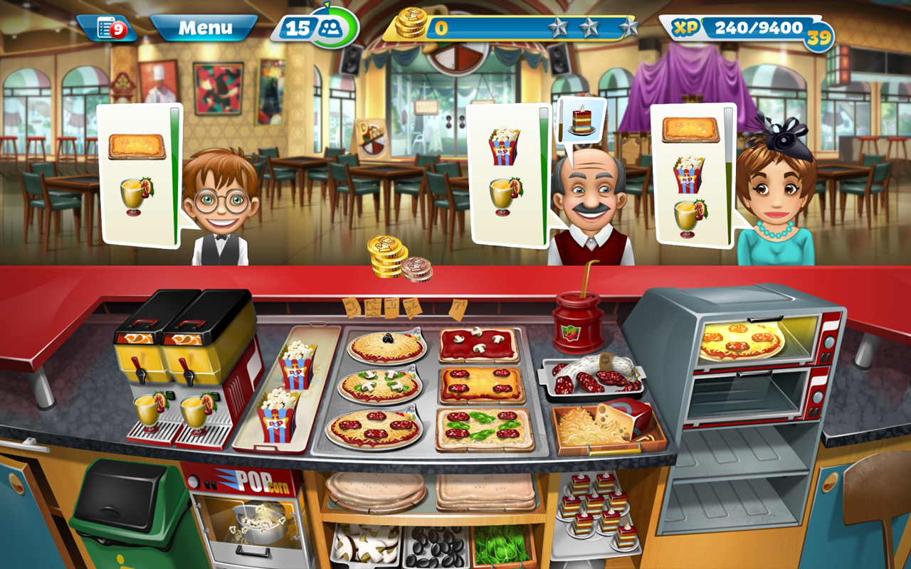 Cooking Fever Mod Apk (Unlimited Money/Gems) 3