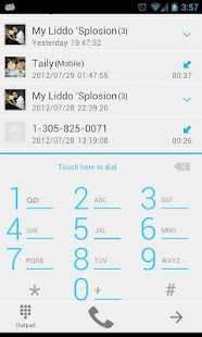 GOContacts Theme Jelly Bean - screenshot thumbnail