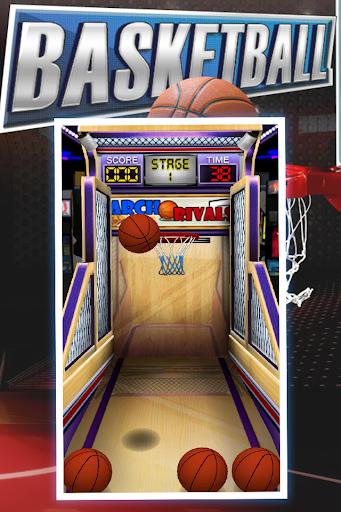 Flick Basketball Shoot 3D