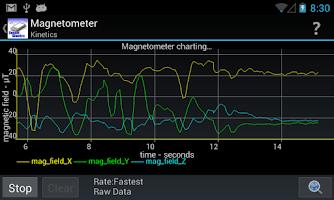 Screenshot of Sensor Kinetics