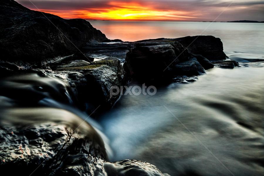 by Hamada Jarrar - Landscapes Sunsets & Sunrises