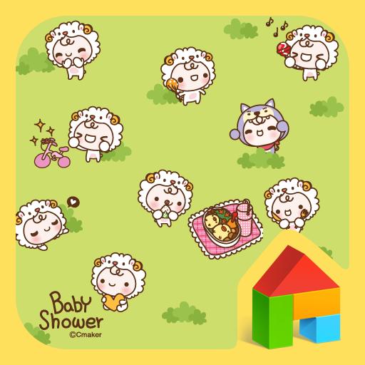 babyshower(spring) dodol theme 個人化 App LOGO-APP試玩