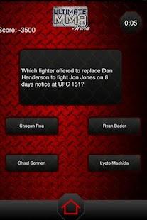 Ultimate MMA Trivia