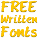 Write Fonts for FlipFont free icon