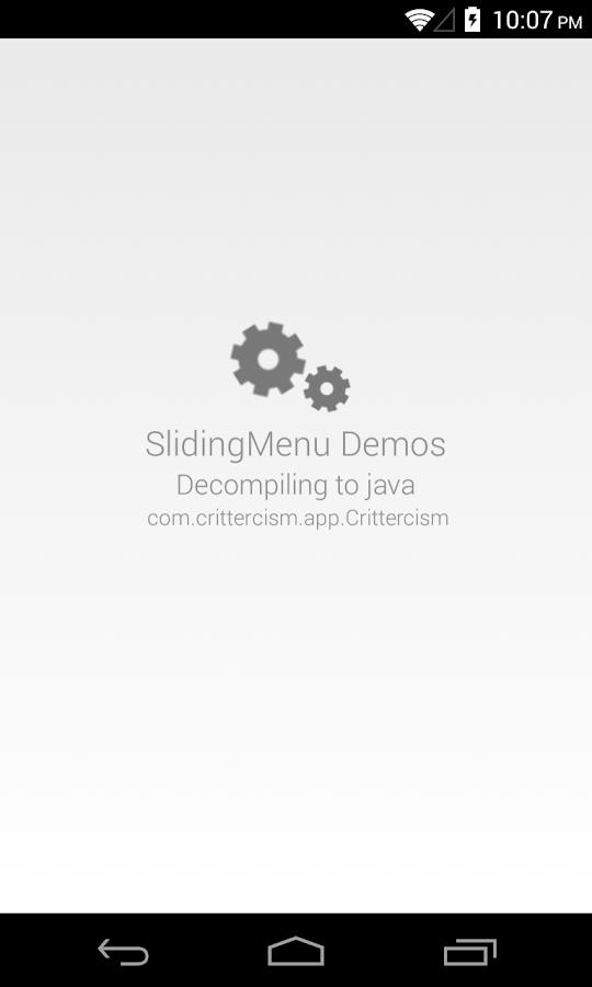 Show Java - A Java Decompiler - screenshot
