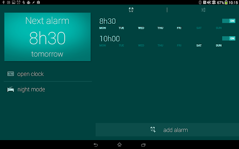 Glimmer (luminous alarm clock) v1.1.11