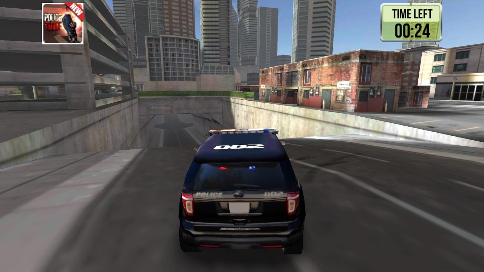 Police Car Games