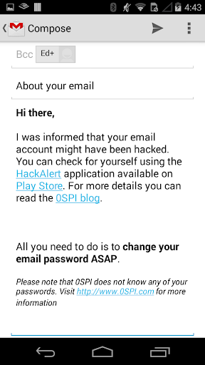 Hack Alert - Open Source