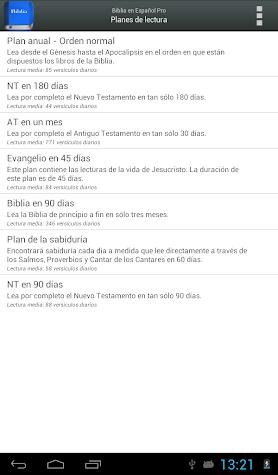 Biblia Reina Valera PRO Screenshot