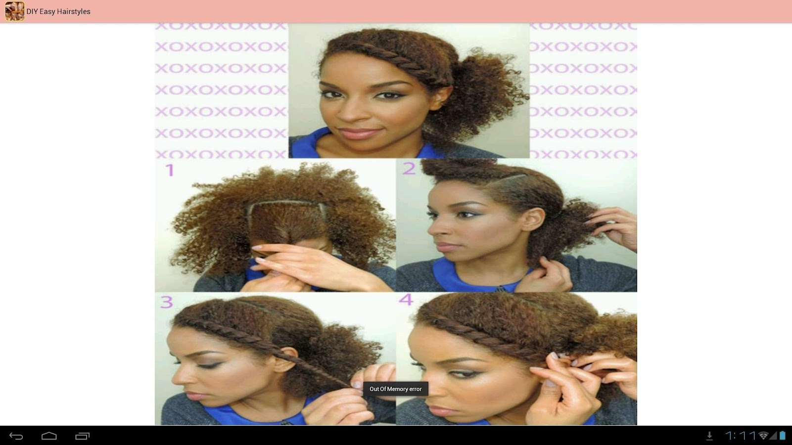 Remarkable Diy Easy Hairstyles Tutorials Android Apps On Google Play Short Hairstyles For Black Women Fulllsitofus