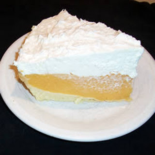 Cantaloupe Cream Pie II
